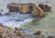 Laguna Beach seascape painting
