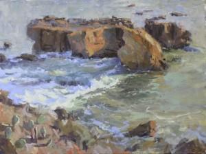 Laguna Beach seascape painting