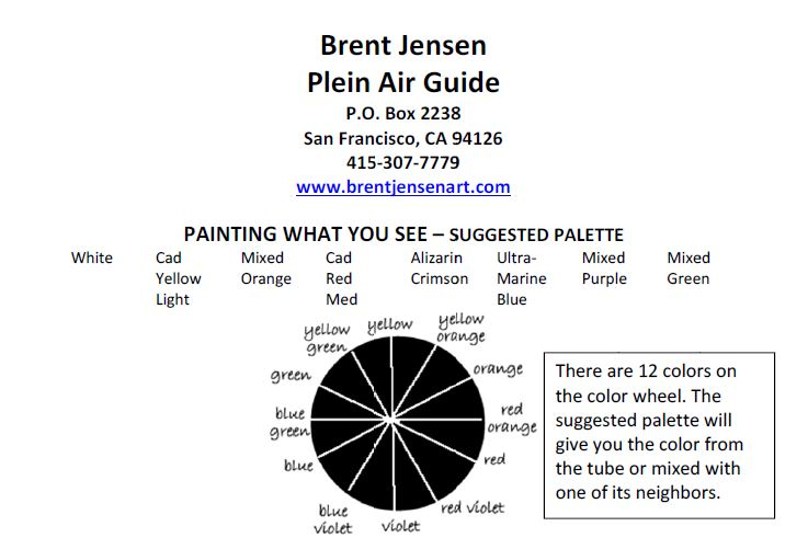 Free Guide to Plein Air Painting