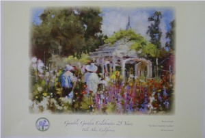 Sunday In Gamble Garden Poster