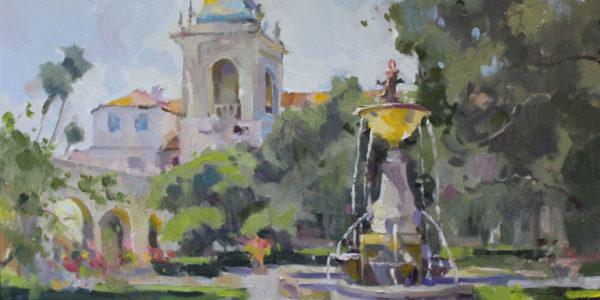 Pasadena City Hall Fountain