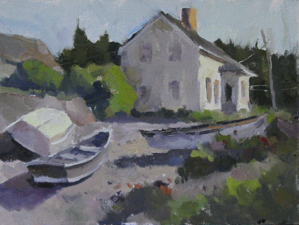 Monhegan Island Side Yard